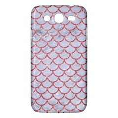 Scales1 White Marble & Pink Glitter (r) Samsung Galaxy Mega 5 8 I9152 Hardshell Case  by trendistuff