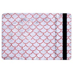 Scales1 White Marble & Pink Glitter (r) Ipad Air 2 Flip by trendistuff