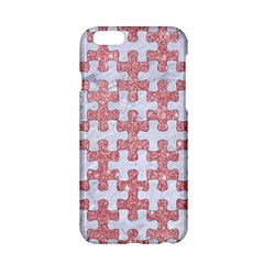 Puzzle1 White Marble & Pink Glitter Apple Iphone 6/6s Hardshell Case by trendistuff