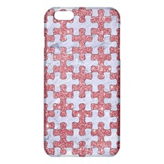 Puzzle1 White Marble & Pink Glitter Iphone 6 Plus/6s Plus Tpu Case by trendistuff