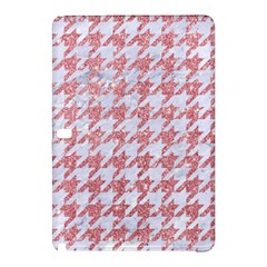 Houndstooth1 White Marble & Pink Glitter Samsung Galaxy Tab Pro 12 2 Hardshell Case by trendistuff