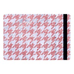 Houndstooth1 White Marble & Pink Glitter Apple Ipad Pro 10 5   Flip Case by trendistuff