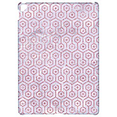Hexagon1 White Marble & Pink Glitter (r) Apple Ipad Pro 12 9   Hardshell Case by trendistuff