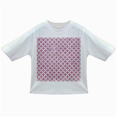 Circles3 White Marble & Pink Glitter Infant/toddler T Shirts by trendistuff