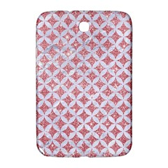 Circles3 White Marble & Pink Glitter Samsung Galaxy Note 8 0 N5100 Hardshell Case  by trendistuff