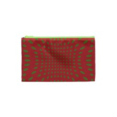 Crazy Retro Pattern Cosmetic Bag (xs) by goodart