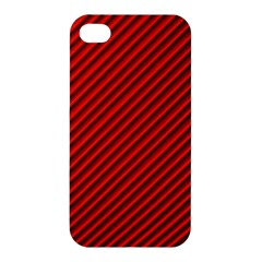 Abstract Red Art Apple Iphone 4/4s Premium Hardshell Case by goodart