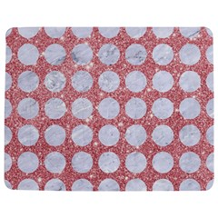 Circles1 White Marble & Pink Glitter Jigsaw Puzzle Photo Stand (rectangular) by trendistuff