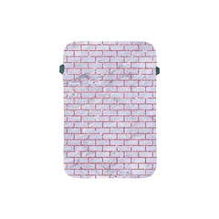 Brick1 White Marble & Pink Glitter (r) Apple Ipad Mini Protective Soft Cases by trendistuff