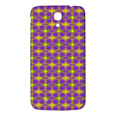 Purple Yellow Swirl Pattern Samsung Galaxy Mega I9200 Hardshell Back Case by BrightVibesDesign