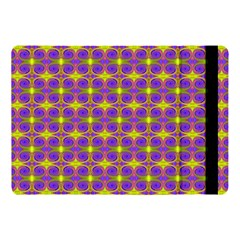 Purple Yellow Swirl Pattern Apple Ipad Pro 10 5   Flip Case by BrightVibesDesign