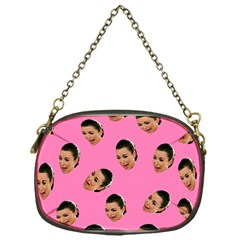 Crying Kim Kardashian Chain Purses (one Side)  by Valentinaart
