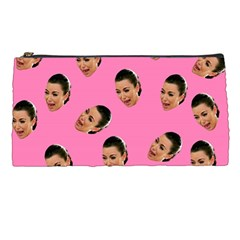 Crying Kim Kardashian Pencil Cases by Valentinaart