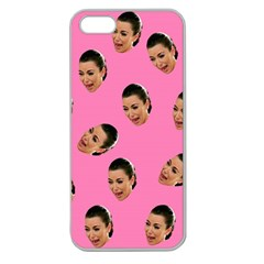 Crying Kim Kardashian Apple Seamless Iphone 5 Case (clear) by Valentinaart