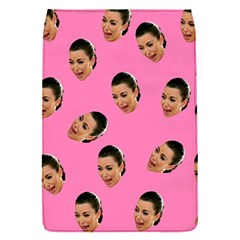 Crying Kim Kardashian Flap Covers (s)  by Valentinaart