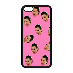 Crying Kim Kardashian Apple Iphone 5c Seamless Case (black) by Valentinaart
