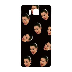 Crying Kim Kardashian Samsung Galaxy Alpha Hardshell Back Case by Valentinaart