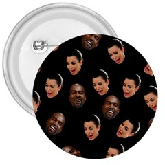 Crying Kim Kardashian 3  Buttons by Valentinaart
