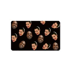 Crying Kim Kardashian Magnet (name Card) by Valentinaart