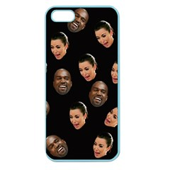 Crying Kim Kardashian Apple Seamless Iphone 5 Case (color) by Valentinaart