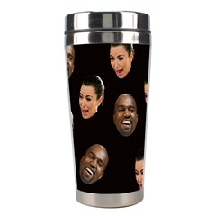 Crying Kim Kardashian Stainless Steel Travel Tumblers by Valentinaart