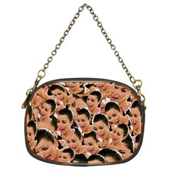 Crying Kim Kardashian Chain Purses (two Sides)  by Valentinaart