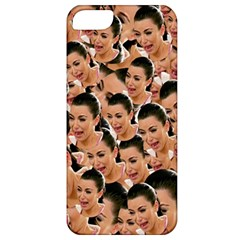 Crying Kim Kardashian Apple Iphone 5 Classic Hardshell Case by Valentinaart