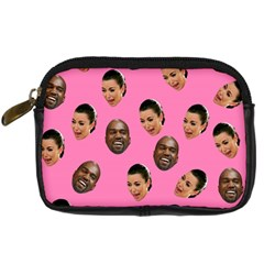 Crying Kim Kardashian Digital Camera Cases by Valentinaart