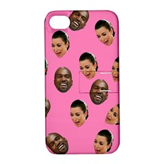 Crying Kim Kardashian Apple Iphone 4/4s Hardshell Case With Stand by Valentinaart
