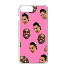 Crying Kim Kardashian Apple Iphone 8 Plus Seamless Case (white) by Valentinaart