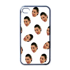Crying Kim Kardashian Apple Iphone 4 Case (black) by Valentinaart