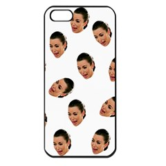 Crying Kim Kardashian Apple Iphone 5 Seamless Case (black) by Valentinaart