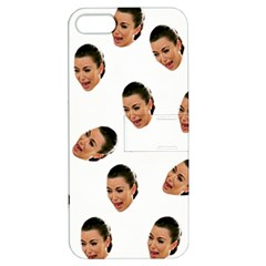 Crying Kim Kardashian Apple Iphone 5 Hardshell Case With Stand by Valentinaart