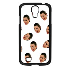 Crying Kim Kardashian Samsung Galaxy S4 I9500/ I9505 Case (black) by Valentinaart