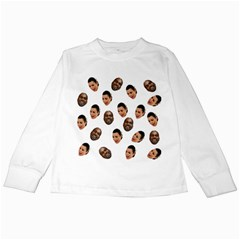 Crying Kim Kardashian Kids Long Sleeve T Shirts by Valentinaart