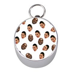Crying Kim Kardashian Mini Silver Compasses