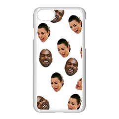 Crying Kim Kardashian Apple Iphone 7 Seamless Case (white) by Valentinaart