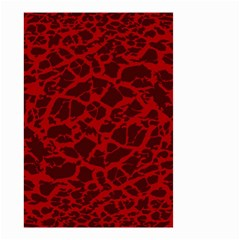 Red Earth Texture Small Garden Flag (two Sides)