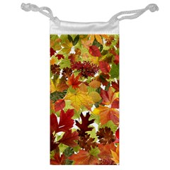 Autumn Fall Leaves Jewelry Bags