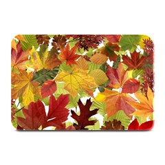 Autumn Fall Leaves Plate Mats by LoolyElzayat
