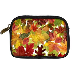 Autumn Fall Leaves Digital Camera Cases