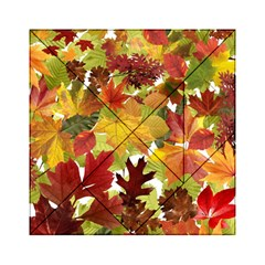 Autumn Fall Leaves Acrylic Tangram Puzzle (6  X 6 )