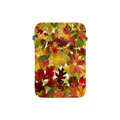 Autumn Fall Leaves Apple Ipad Mini Protective Soft Cases