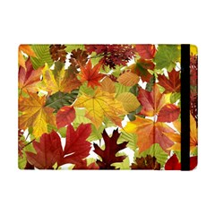 Autumn Fall Leaves Ipad Mini 2 Flip Cases by LoolyElzayat