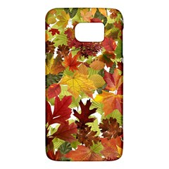 Autumn Fall Leaves Galaxy S6 by LoolyElzayat