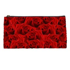 Romantic Red Rose Pencil Cases by LoolyElzayat