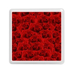 Romantic Red Rose Memory Card Reader (square)  by LoolyElzayat