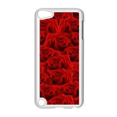 Romantic Red Rose Apple Ipod Touch 5 Case (white) by LoolyElzayat