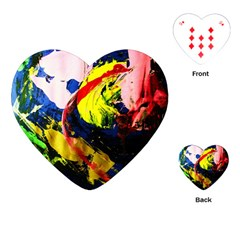 Global Warming 2 Playing Cards (heart)  by bestdesignintheworld