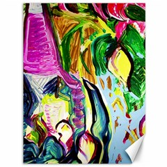 Lilac And Lillies 2 Canvas 36  X 48   by bestdesignintheworld